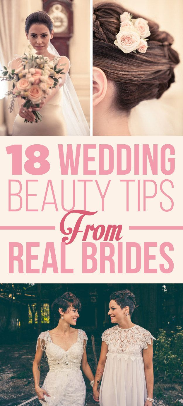 Beauty tips for brides #budgetwedding #weddingtips http://brieonabudget.com/pinterest/