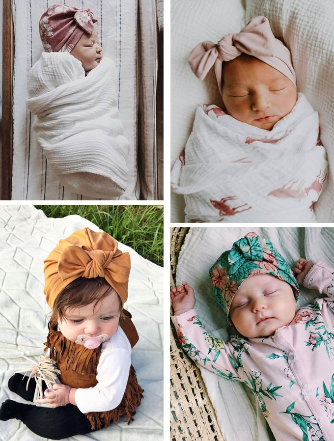 Agarrar principal Litoral  bebés con turbantes   Turbantes para niña, Turbante de bebé, Turbantes