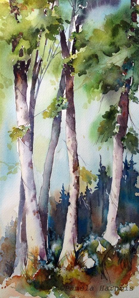 Pamela Harnois, It Finds You #tree #art