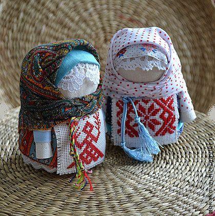 Крупеничка-зернушка - ярко-красный,оберег для дома,кукла-оберег,народная кукла