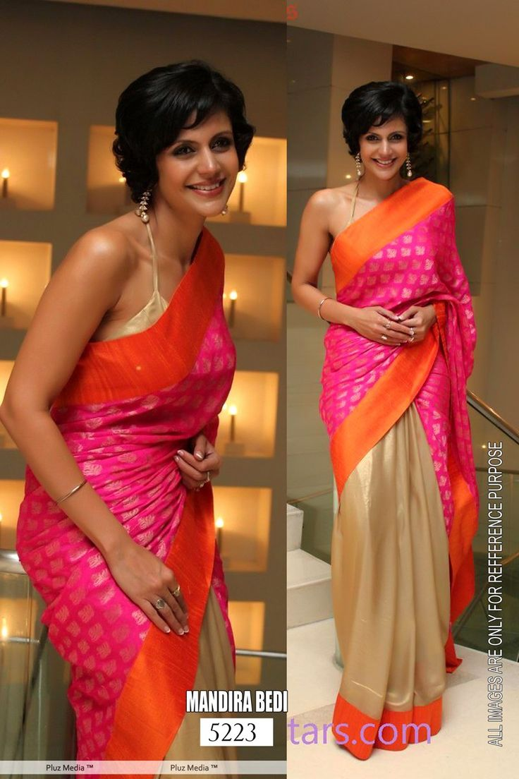 Online Shopping for Mandira Bedi to Showcase New Saree | Bollywood Sarees | Unique Indian Products by SAREEZ HOUSE - MSARE16308174610