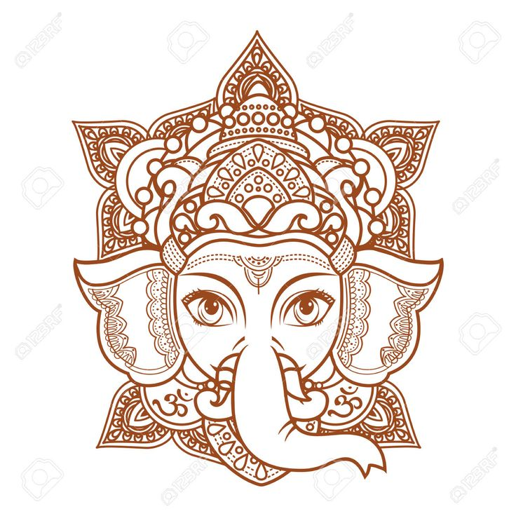 Aliexpress Com Buy India Elephant God Tattoos Cool: 25+ Best Ideas About Hindu Tattoos On Pinterest