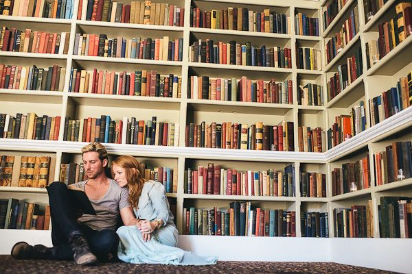 Library engagement shoot. Ken Kienow.  @Erin B Michael