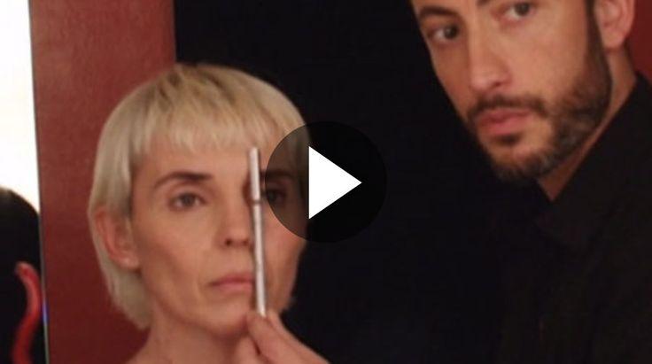 MAQUILLAJE OJOS SEPARADOS / VIDEO