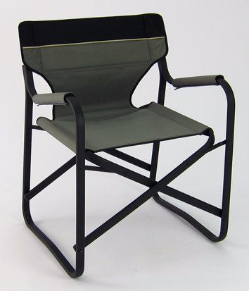 Camping Chairs - Pin it Follow Us :-)) zCamping.com is your Camping Product Gallery ;) CLICK IMAGE TWICE for Pricing and Info :) SEE A LARGER SELECTION of camping chairs at http://zcamping.com/category/camping-categories/camping-furniture/camping-chairs/ -  hunting, camping, portable chair, camping gear, folding chair, camping chair, chair, camping accessories - Designer's Aluminum Folding Deck Chair – Grey « zCamping.com