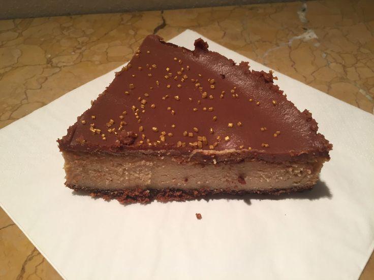 Cheesecake al burro d'arachidi - peanut butter cheesecake
