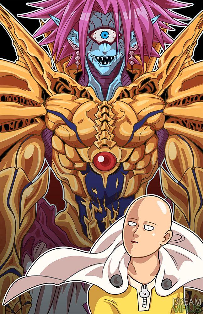 onepunchman__lord_boros_x_saitama_by_thedreamvirus-d9qfznv.png (647×1000) | One Punch Man ...
