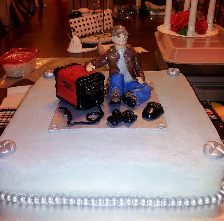 Welding Grooms Cake Groom S Cake Pinterest Groom