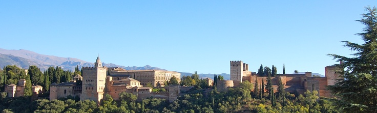 The Alhambra, Granada - view from St Nicholas