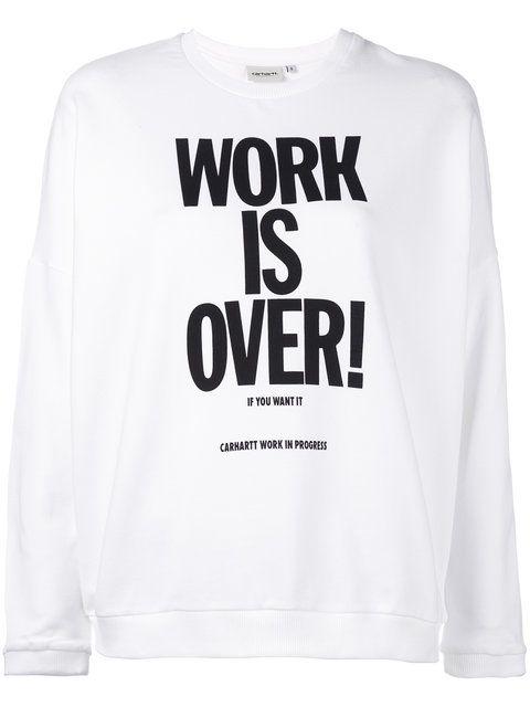CARHARTT Ellery Slogan Sweatshirt. #carhartt #cloth #sweatshirt