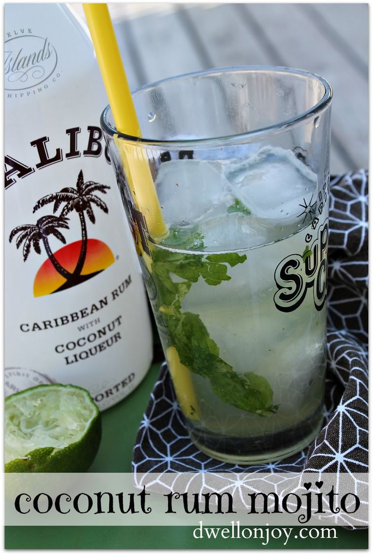 17 best ideas about coconut mojito on pinterest mojito for Best soda with rum