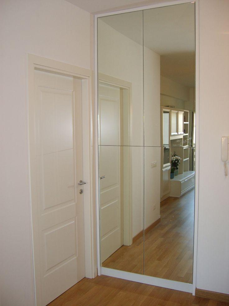 Oltre 25 fantastiche idee su armadio a muro su pinterest - Porta a specchio ...