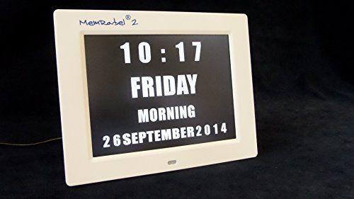 MemRabel 2, Dementia clock with media player alarms