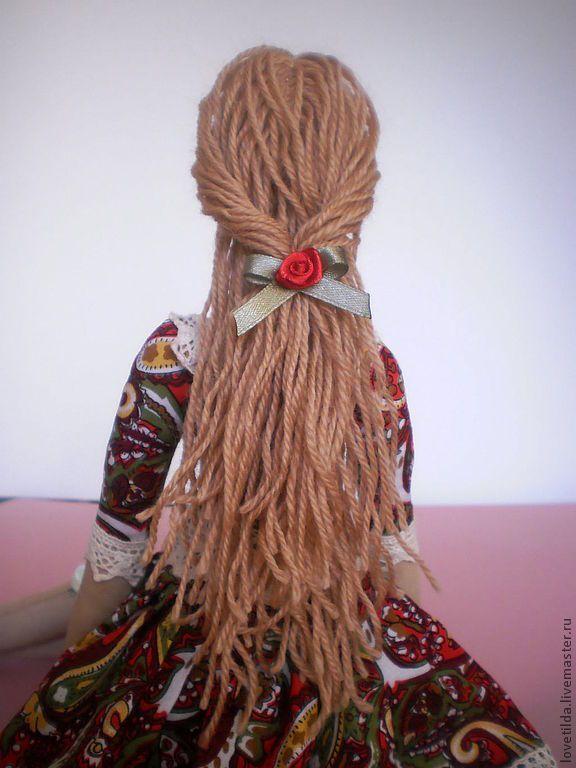 Кукла в стиле Тильда Розалина