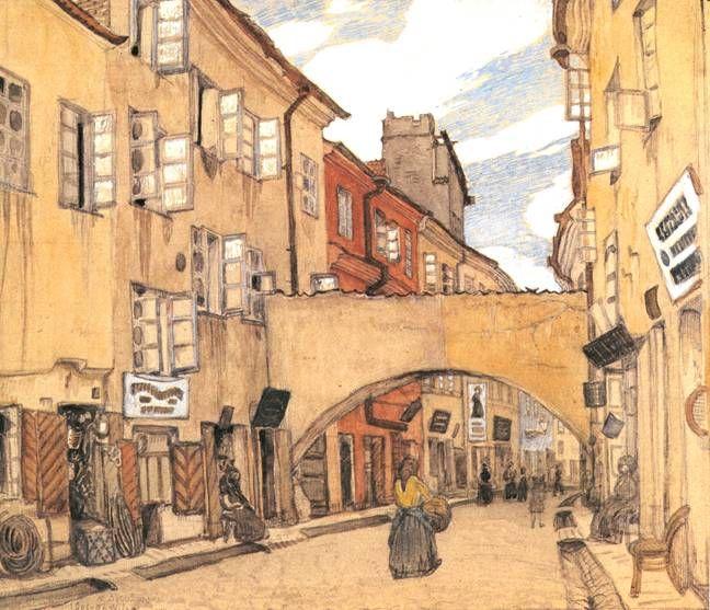 Стеклянная улица в Вильно