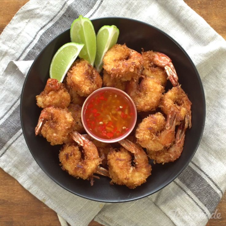This fried coconut shrimp packs a punch, a punch full of flavor!