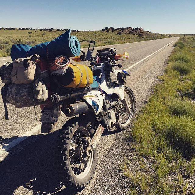 Suzuki DRZ400 adventure Why not? So many logging roads, so much exploring