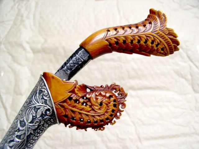 malay keris  handle