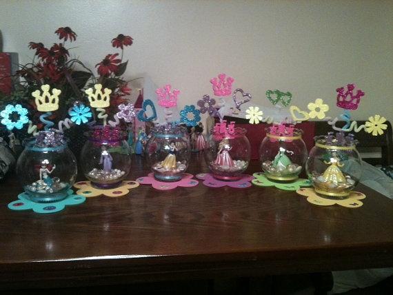 Disney Princess Centerpiece by jessicachavez5 on Etsy, $30.00