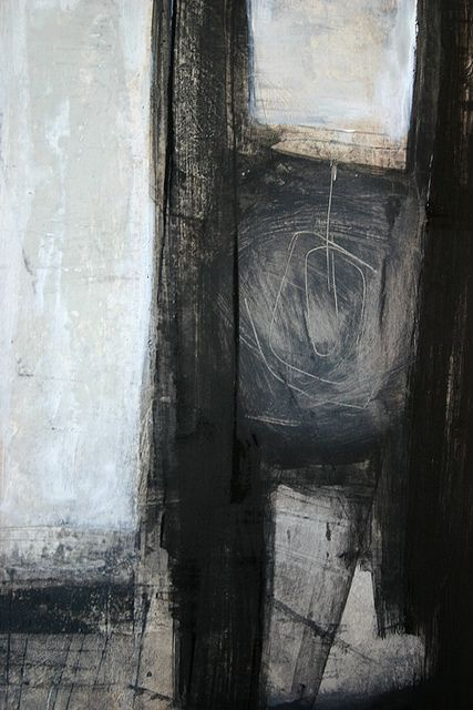 tetedecaboche:    noir et blanc ¬    linda vachon / tête de caboche: Abstract, Linda Vachon, Abstract Art, Art Inspiration, Aabstractart Weathered, Art Abstract, Abstract Paintings
