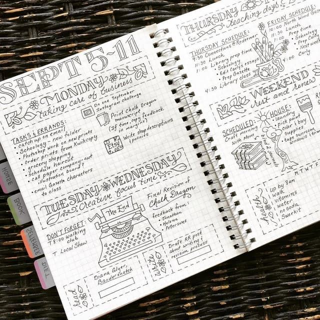 Have you heard of bullet journaling? The latest trend in list making, it really just requires a notebook, a pen, and maybe a ruler if you're a stickler for straight lines. Part planner, part diary, all bullet journals start with an index, and the rest is up to you. You can add yearly overviews, monthly calendars, daily habits, shopping lists, class notes, doodles—you name it. Of course, some get pretty fancy with it, and the #bulletjournal hashtag on Instagram is a source of inspiration (or…