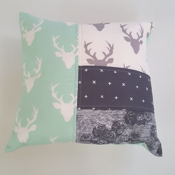 Hey, I found this really awesome Etsy listing at https://www.etsy.com/listing/450664652/mint-and-grey-cushion