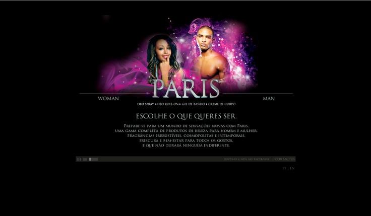 Apresentamo-vos outro dos nossos trabalhos - site para a PARIS BC >> www.paris-bc.com