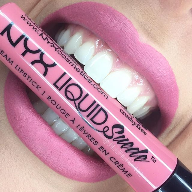 NYX Liquid Suede Lipstick :: TEA & COOKIES