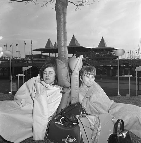 Opening day at Expo 67.