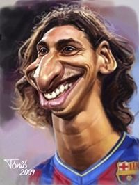 Zlatan Ibrahimovic FC Barcelona (medium)