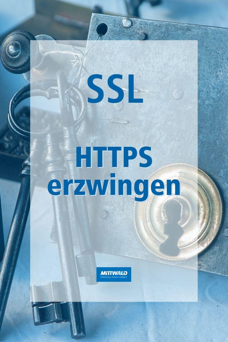 HTTPS erzwingen – Mittwald CM Service