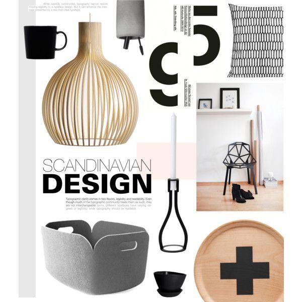 """Scandinavian Design"" by bellamarie on Polyvore #scandinavian #interiorstyle #Polyvorehome"