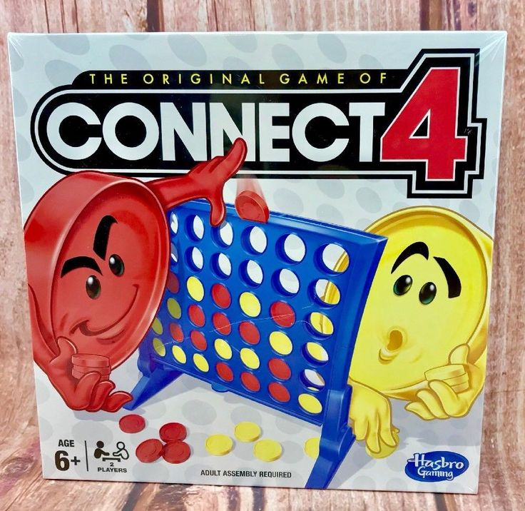 Hasbro Gaming Connect 4 Classic Grid Kid Family Fun Activity Original Board Game