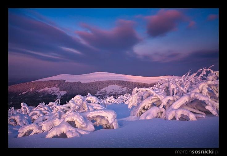 Bieszczady  #bieszczady #mountains #gory #winter #inverno