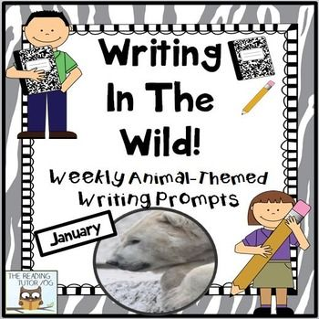 January writing is sure to spark interest in January writing. They'll have even your most reluctant writers eager to open their journals. Great for your 2nd, 3rd, 4th and 5th grade classroom and home school students. January writing is part of a monthly set of animal themed writing prompts.There are 4 different stunning animal photographs suitable for this month and a writing prompt to accompany it. {second, third, fourth, and fifth grader, homeschool}