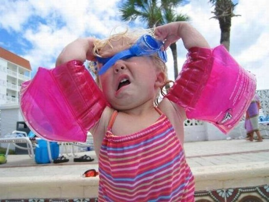 damn goggles!!!Languages, Little Girls, Swimming Lessons, Funny Stuff, Humor, Kids, So Funny, Feelings, Swimming Team