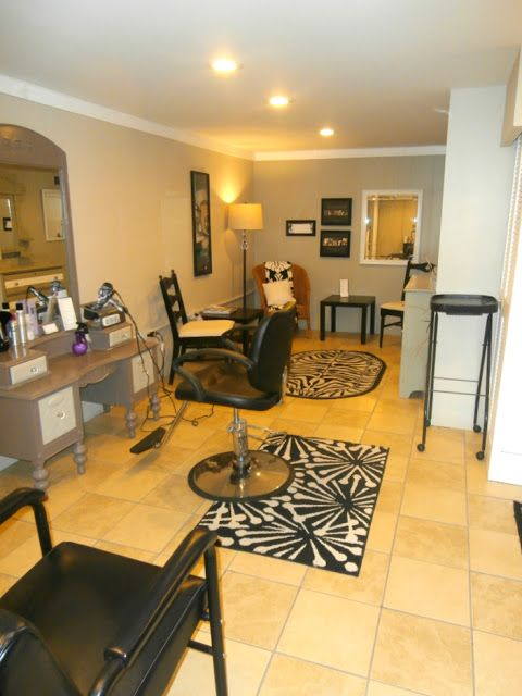 Home Spa Design Ideas: 10 Best Ideas About Home Hair Salons On Pinterest