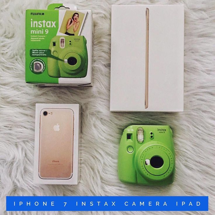 """INTERNATIONAL GIFT! 🎉 I've teamed up with some amazing accounts to give one lucky follower a brand new gold iPhone 7, a 2017 gold iPad, and a brand new instax 9 Camera!  To Enter to Win:  1⃣FOLLOW ME  2⃣LIKE this picture  3⃣GO TO  @sexwut  4⃣REPEAT steps 1-3 on every account until you come back to me (or the account you started with) and leave a COMMENT saying, """"I've entered to win!!"""" 5⃣If you want a DOUBLE chance at winning, TAG some real friends only who would like this giveaway in the…"""