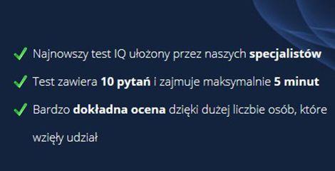 Darmowy test IQ