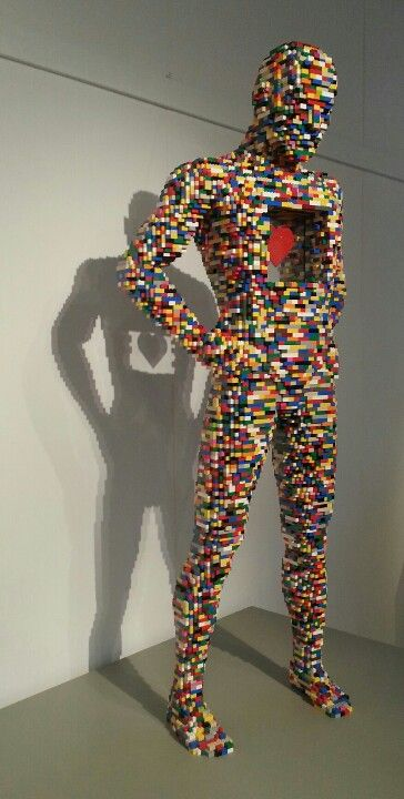 Lego art by Nathan Sawaya