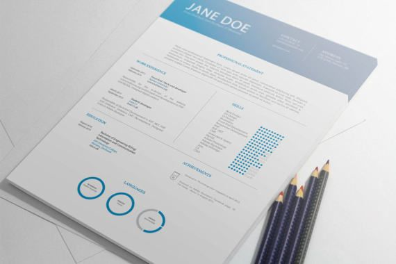 Professional Resume | Resume Template | CV Template | Instant Download | Creative Resume