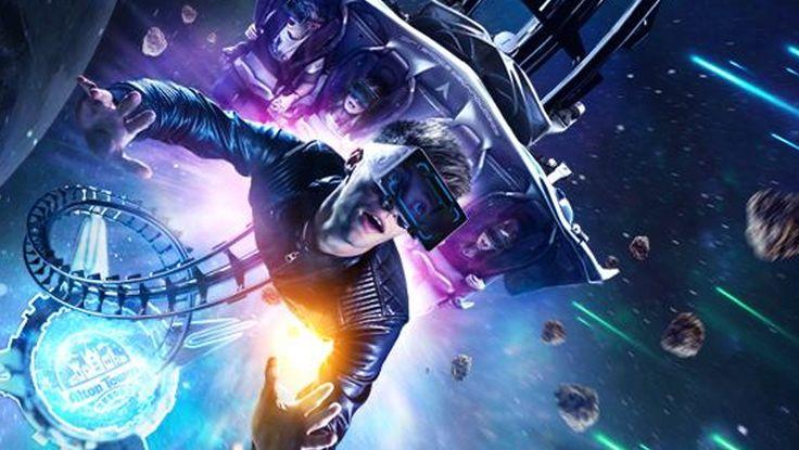 """Die Achterbahn """"Air"""" in Alton Towers wird einer umfangreichen Erneuerung unterzogen. 2016 öffnet die Attraktion unter dem neuen Namen """"Galactica"""", optimiert für ein Virtual Reality-Abenteuer. Alle Infos: http://www.parkerlebnis.de/alton-towers-virtual-reality-coaster-galactica-ankuendigung_18814.html"""