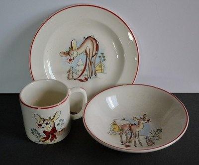 Vintage Rudolph Childs dinnerware