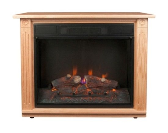 The original Amish fireplace.  This has a handcrafted Amish made mantle and is made by the original manufacturer.