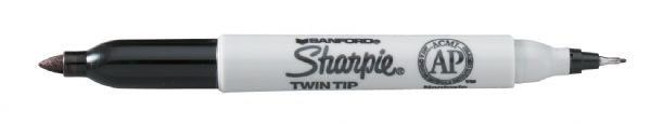 Twin Tip Permanent Marker (Set of 3)