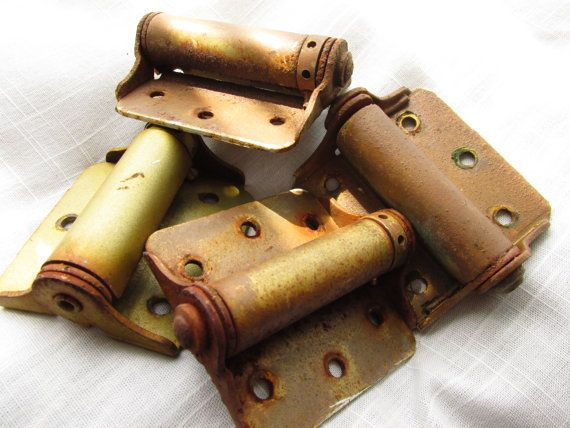 Screen/ Porch Door Spring Loaded Hinges by Myvints on Etsy, $10.00