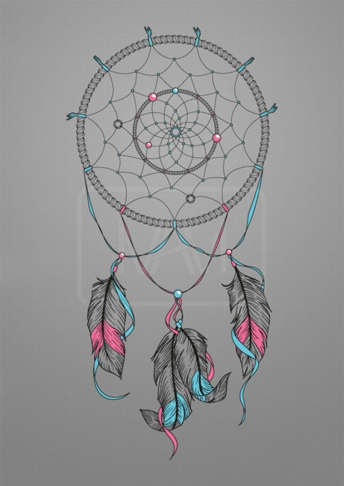 Dream Catcher with Words | Dream Catcher Drawing On Behance