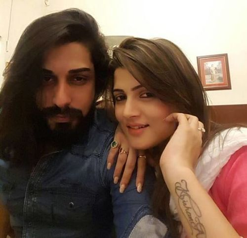 One year into the relationship, Srabanti is getting engaged to her supermodel boyfriend, Krishan Vraj.The engagement is set to happen in one month!