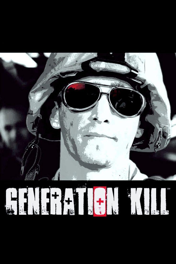 Generation Kill (2008) Season 1, 7 Episodes | 70 min | Drama, War | HBO, Hulu | ジェネレーション・キル 兵士たちのイラク戦争 TVミニシリーズ 全7話