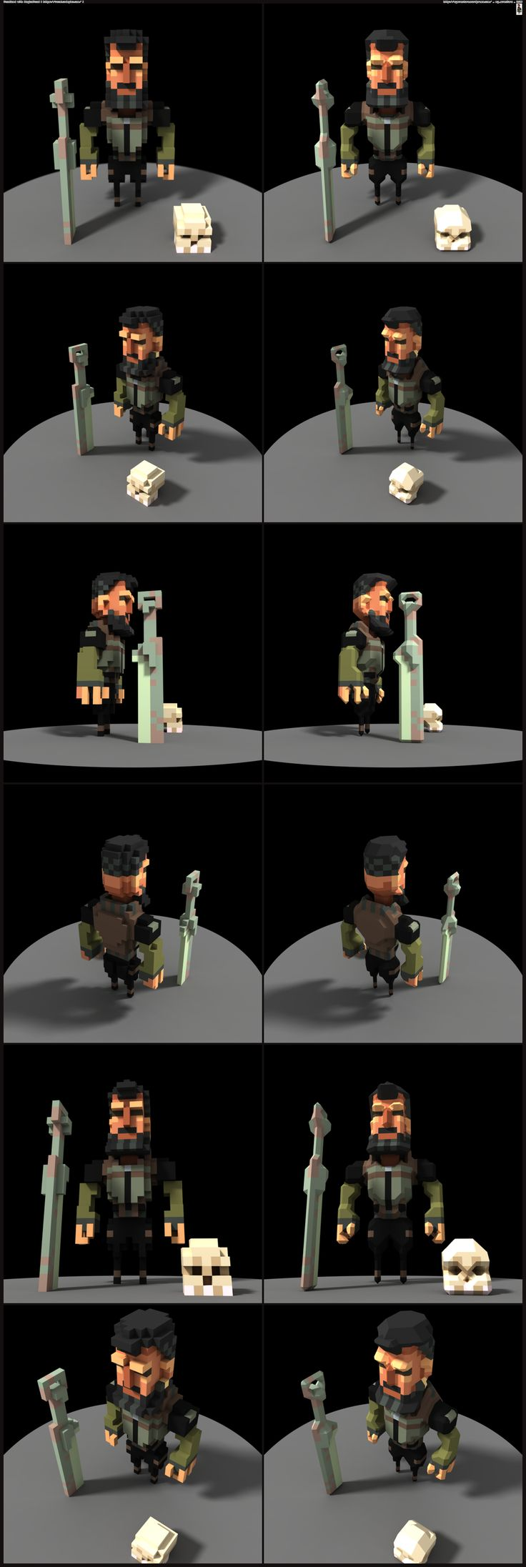 Dude Voxel by Dillerkind                                                                                                                                                     More                                                                                                                                                                                 More